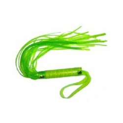 Faux Leather Whip Green