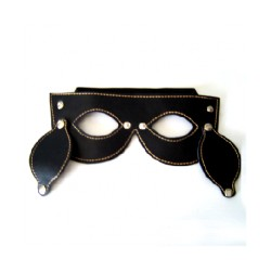 Faux Leather eye mask