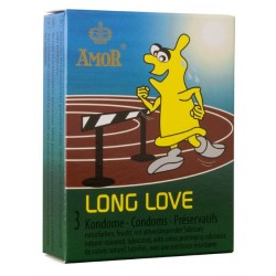 Amor Long Love Condoms 3 Pack