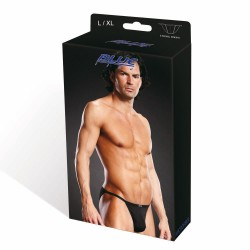 BLUE LINE Performance Microfiber String Bikini blk L/XL