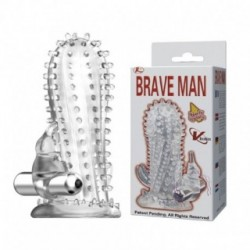 BRAVE MAN PENIS VIBRATING SLEEVE