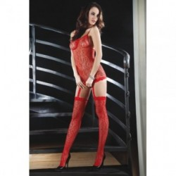CATRIONA BODYSTOCKING – ROJO