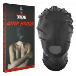 Full Mask with Mouth Hole - Black