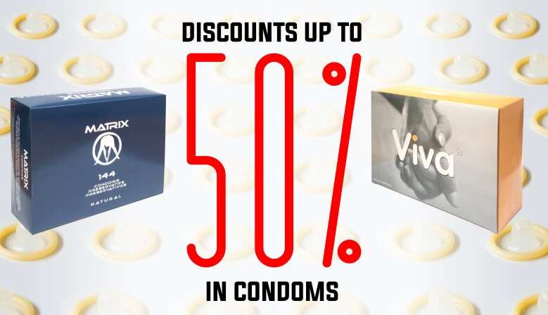 New condoms Viva and Matrix