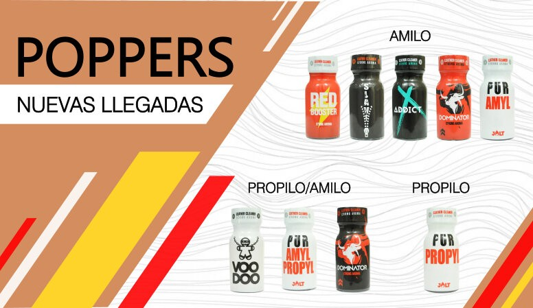 Nuevos poppers jolt