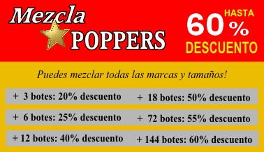Descuento Poppers