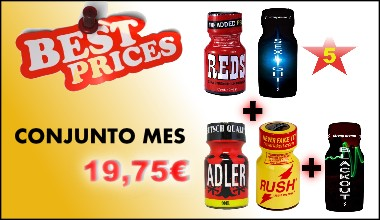 Conjunto Poppers Mes