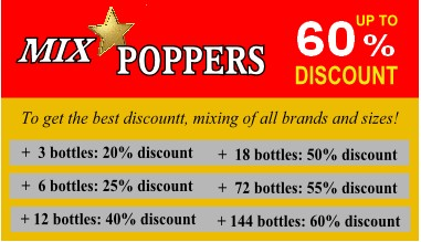 Poppers Mix Discount